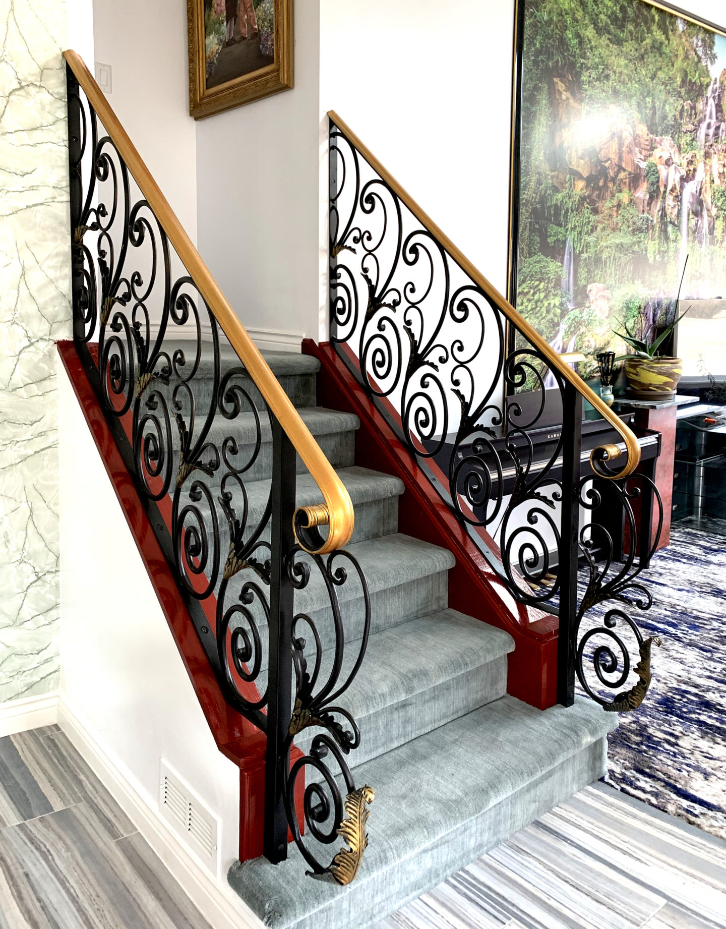 Add a gorgeous custom staircase railing to your home ...
