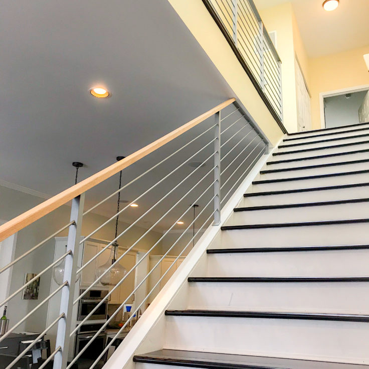 Silver Custom wrought iron railings for your home ...