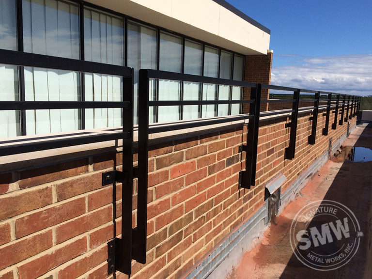 Renaissance Hotel Roof Patio Railing in Northbrook ...